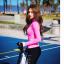 [พร้อมส่ง]ชุดว่ายน้ำแขนยาว+กางเกงขายาว+บิกินี่ เซ็ต 3 ชิ้น เสื้อสีชมพูสด สกรีนลาย thumbnail 7