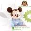 ตุ๊กตามิกกี้เมาส์เบบี้ 6.5 นิ้ว [Mickey Mouse] thumbnail 2