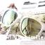 Vans Spicoli 4 Sunglasses - White / Mirror Green thumbnail 4