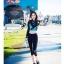 [พร้อมส่ง]ชุดว่ายน้ำแขนยาว+ขายาวกางเกง5ส่วน+บีกินี เสื้อโทนสีฟ้าม่วง กางเกงสีดำ thumbnail 2