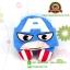 หมอนรองคอกัปตันอเมริกา Captain America มีฮู้ด [Marvel] thumbnail 1