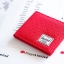 Herschel Hank Wallet - Red Embroidery Polka Dot thumbnail 4