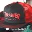 Thrasher Logo Mesh Cap - Black / Red thumbnail 2