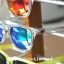 Knockaround Premiums Sunglasses - Clear / Green Moonshine thumbnail 5