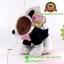 ตุ๊กตา หมาใส่สูตร สีดำ 7 นิ้ว [Hauck Hong Kong] thumbnail 5