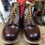 รองเท้า RED WING 8134 สี chocolate chrome หัวมน สีน้ำตาล
