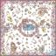 ผ้าพันคอ 'ทัชจัง' ลาย whale&#x2665whale My Little Space - สีขาว thumbnail 3