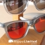 Knockaround Premiums Sunglasses - Frosted Grey / Red Sunset thumbnail 6