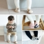 Baby Touch ถุงเท้าเด็ก สั้นบาง ฮิปสเตอร์เกาหลี (Socks - SK) thumbnail 4