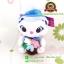 ตุ๊กตาแมวมารี Flower Garden ชุดน้ำเงิน 10 นิ้ว [Disney] thumbnail 1