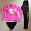 [พร้อมส่ง]ชุดว่ายน้ำแขนยาว+กางเกงขายาว+บิกินี่ เซ็ต 3 ชิ้น เสื้อสีชมพูสด สกรีนลาย thumbnail 2