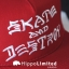 Thrasher Skate And Destroy Snapback - Blood Red thumbnail 3