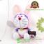 ตุ๊กตาโดเรม่อน 12 นักษัตร ท่านั่งปีกระต่าย 7 นิ้ว [Fujiko Pro] thumbnail 2