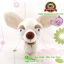 ตุ๊กตาหมา Chiwawa สีครีม ท่ายืน 10 นิ้ว [Little Bear] thumbnail 1