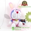 ตุ๊กตาโดเรม่อน 12 นักษัตร ท่านั่งปีกระต่าย 7 นิ้ว [Fujiko Pro] thumbnail 3