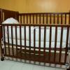 เตียงไม้พับได้ Folding Baby Cot