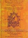 ดอนกิโฆเต้ แห่งลามันช่า ขุนนางต่ำศักดิ์นักฝัน (DON QUIXOTE DE LAMANCHA) / มิเกล เด เซน์บันเตส ซาเบดร้า (MIGUEL DE CERVANTES SAAVEDRA); สว่างวัน ไตรเจริญวิวัฒน์(แปล) :: มัดจำ 696 ฿, ค่าเช่า 139 ฿