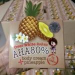 AK622 Over White สับปะรด AHA 80% Body Cream Pineapple by Sabu 30 g. ครีมสับปะรด