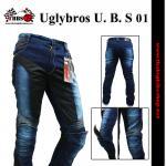 กางเกงยีนส์ uglybros รุ่น U. B. S 01 มีการ์ด (ผู้ชาย)