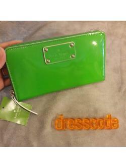 Kate spade wallet/กระเป๋าสตางค์สีเขียวkate spade