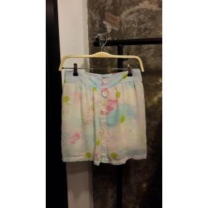 กางเกงกระโปรงชีฟองสีพาสเทลสวยๆ