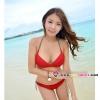 【พร้อมส่ง M】SB2026 ชุดว่ายน้ำ บิกินี่ ทูพีช สำหรับสาวอกใหญ่ เซ็กซี่ร้อนแรง