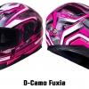 #D-Camo Fuxia No.12