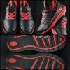 K-SWISS สีดำคาดแดง สภาพ 90% size 34