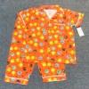 SLW-032 (2Y,3Y,4Y,5Y) ชุดนอน Mini Bear สีส้ม ลายหมี Keli สีฟ้า-เขียว-เหลือง-ดำ กุ๊นริมขาว