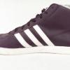 รองเท้าผ้าใบ Adidas NEO Label ทรงหุ้มข้อสีดำ - ม่วง เบอร์ 40