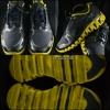REEBOK สีดำคาดเหลือง สภาพ 90% size 42