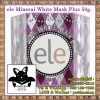ele Mineral White Mask Plus 50 g. : แอลลี่ ครีมมาส์ค น้ำแร่ถ่านขาว วิตามินพอกหน้าแบบเร่งด่วน ยกกระชับปรับสีผิวฟื้นฟูสภาพผิวหน้าเสื่อมโทรม ไร้ริ้วรอยชั่วข้ามคืน