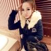 ++สินค้าพร้อมส่งค่ะ++ เสื้อ coat jacket เกาหลี ตัวยาว แขนยาว มี hood หูกระต่าย ดีไซด์น่ารัก มี 2 สี – สี Dark Blue