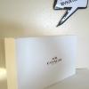 กล่องกระเป๋า Coach Gift Box Small 12x10x5 นิ้ว ขาว/น้ำตาล