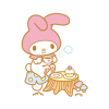 My Melody Animated Stickers (ขยับได้)