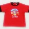 ฺBSH-149 (12-18M) เสื้อผ้าฟรีซขูดขน สีแดงตัดต่อสีดำ ลาย Hockey All Stars