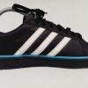 รองเท้าผ้าใบ Adidas NEO LABEL สีดำ ฟ้า เบอร์ 40