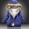 ++สินค้าพร้อมส่งค่ะ++เสื้อ Jacket เกาหลี แขนยาว มี Hood ดีไซด์แต่ง Fur ที่ Hood กระเป๋าข้างแต่งด้วยซิบ มีซับในเก๋มากค่ะ – สีน้ำเงิน