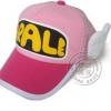หมวกอาราเร่มีปีก สีชมพู