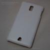 เคสแข็งลายหนัง สีขาว OPPO Find Piano (R8113)