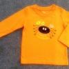 ฺBSH-211 (2Y,3Y,5Y) เสื้อ Baby Boots สีส้ม ปักลายปูยิ้มสีดำ และการ์ตูนผลไม้ Happy Halloween หลากสี