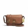 กระเป๋า Coach F31664 B4/SD Hadley Luxe Grain Leather Field CrossBody Bag สีน้ำตาล