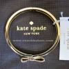 Accessory ชุดเครื่องประดับ Kate Spade กำไลข้อมือ รูปโบว์ ทอง 14K