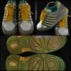 K-SWISS สีเทาคาดเหลือง สภาพ 90% size 41