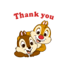 Chip 'n' Dale Animated Stickers (ขยับได้)