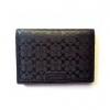 กระเป๋าสตางค์ และที่ใส่ ID CARD Coach F74580 BLK Heritage Slim Passcase ID Embossed Leather Wallet สีดำ