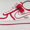 รองเท้าผ้าใบ Nike สีขาว แดง เบอร์ 39