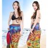 BW019 ผ้าคลุมเดินชายหาด chic blue style【พร้อมส่ง】