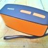 ลำโพงบูลทูธ Bluetooth mini สีส้มสดใส