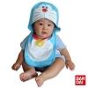 ผ้ากันเปื้อนพร้อมหมวก ลาย Doraemon